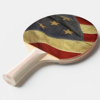 Raquete De Ping-pong Bandeira americana