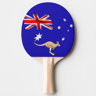 Raquete De Ping-pong Bandeira australiana