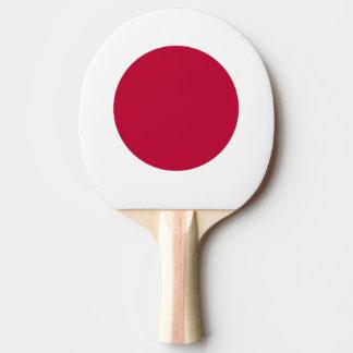 Raquete De Ping Pong Bandeira de Japão