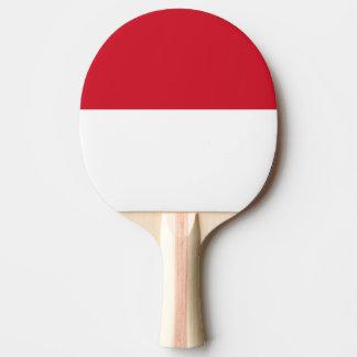Raquete De Ping Pong Bandeira de Monaco