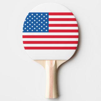 Raquete De Ping-pong Bandeira dos Estados Unidos da bandeira dos EUA