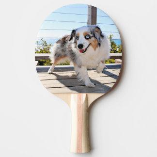 Raquete De Ping-pong Bennett - mini australiano - Rosie - praia de