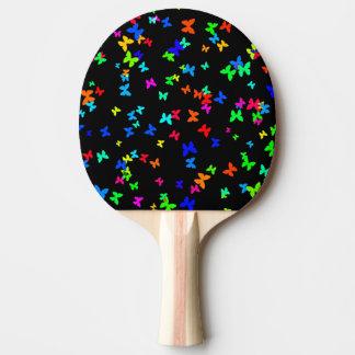 Raquete De Ping-pong Borboletas no preto