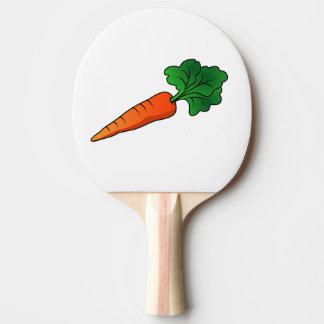 Raquete De Ping Pong cenoura