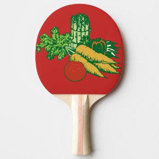 Raquete De Ping Pong cenouras