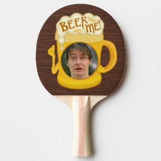 Raquete De Ping-pong Cerveja engraçada mim foto personalizada   do