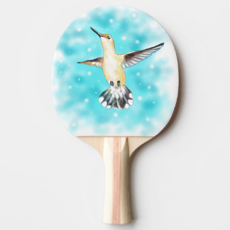 Raquete De Ping Pong Céu do colibri