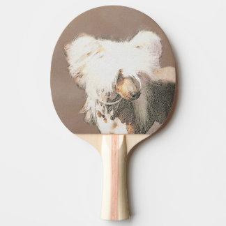 Raquete De Ping Pong Com crista chineses (calvo)