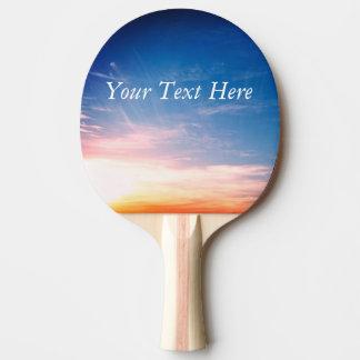 Raquete De Ping Pong Competindo nuvens