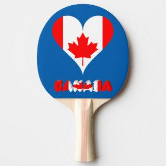 Raquete De Ping Pong Coração canadense