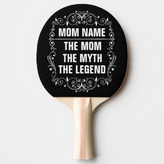 Raquete De Ping Pong Dia das mães feliz da mamã