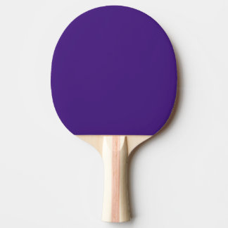 Raquete de ping pong do roxo do monstro