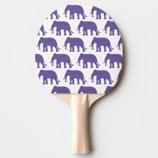 Raquete De Ping-pong Elefantes roxos