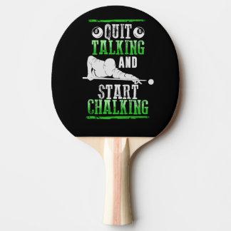 Raquete De Ping Pong Estilo de Billard