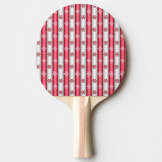 Raquete De Ping Pong Flocos da neve do Natal