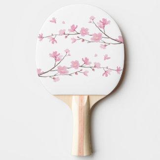 Raquete De Ping Pong Flor de cerejeira - fundo transparente