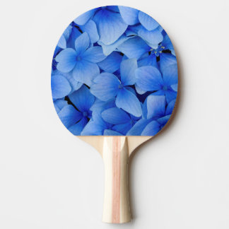Raquete De Ping-pong Flores azuis do Hydrangea