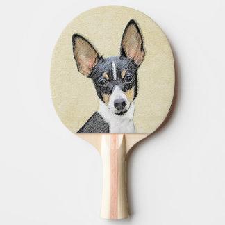 Raquete De Ping Pong Fox Terrier (brinquedo)