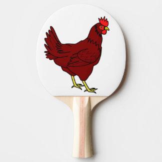 Raquete De Ping Pong galinha