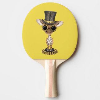 Raquete De Ping-pong Girafa bonito do bebê de Steampunk
