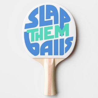 """Raquete De Ping Pong """"Golpeie-os pá de Pong do sibilo das bolas"""""""