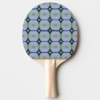 Raquete De Ping Pong HAMbyWG - pá do PingPong - parte traseira vermelha