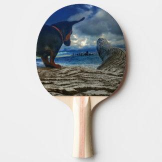 Raquete De Ping Pong Ilha do anjo