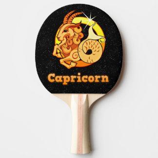 Raquete De Ping-pong Ilustração do Capricórnio