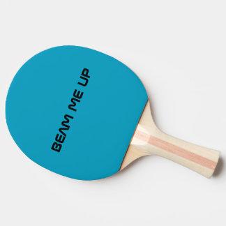 Raquete De Ping Pong Irradie-me acima da pá de Pong do sibilo