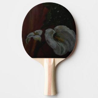 Raquete De Ping-pong Lírios de Arum 1 pá do ténis de mesa