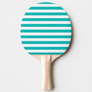 Raquete De Ping Pong Listras horizontais do Aqua