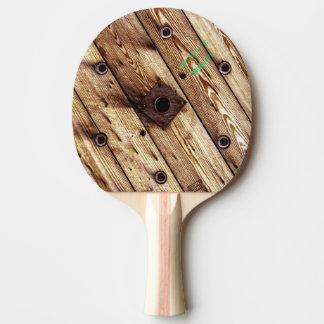 Raquete De Ping-pong Madeira rústica legal
