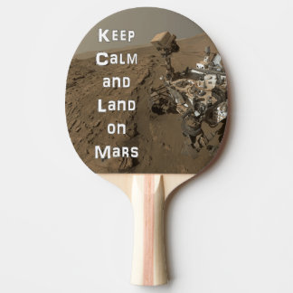 Raquete De Ping-pong Mantenha a pá calma de Pong do sibilo de Marte