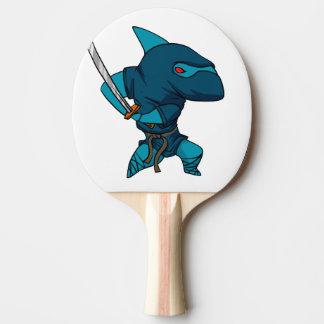 Raquete De Ping-pong Ninja do tubarão