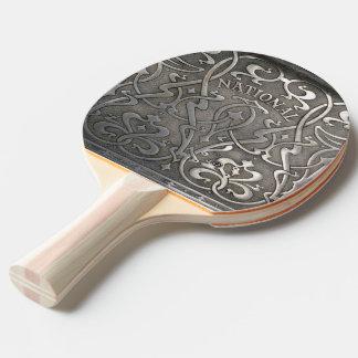 Raquete De Ping Pong Nouveau da arte, estilo do jugen, Noruega,