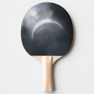 Raquete De Ping-pong Nuvens de tempestade assustadores 2017 do eclipse