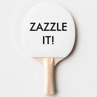 Raquete De Ping Pong O costume personalizou o vazio da pá de Pong do