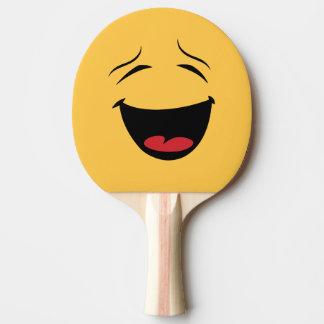 Raquete De Ping-pong O dobro engraçado tomou partido bastão triste