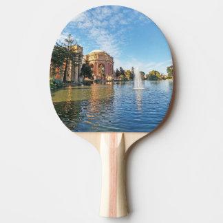 Raquete De Ping-pong O palácio das belas artes Califórnia