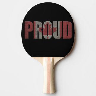 Raquete De Ping Pong Orgulhoso canadense