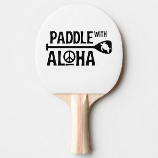 Raquete De Ping Pong Pá com Aloha - pá de Pong do sibilo - a tartaruga