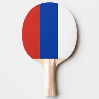 Raquete De Ping-pong pá da equipe do russo do ténis de mesa