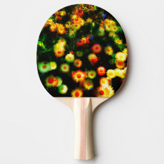 Raquete De Ping Pong Pá de néon bonita de Pong do sibilo das flores