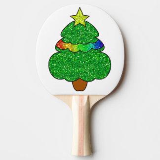 Raquete De Ping Pong Pá de Pong do sibilo da árvore de Natal