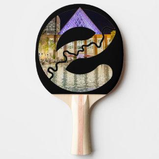 Raquete De Ping Pong Pá de Pong do sibilo da câmara municipal de