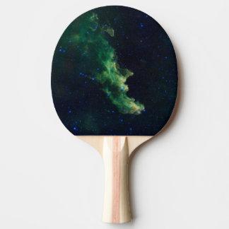 Raquete De Ping Pong Pá de Pong do sibilo da galáxia do espaço