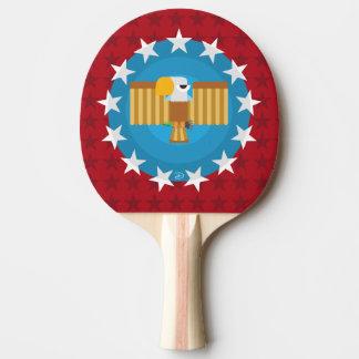Raquete De Ping-pong Pá de Pong do sibilo de Eagle da liberdade