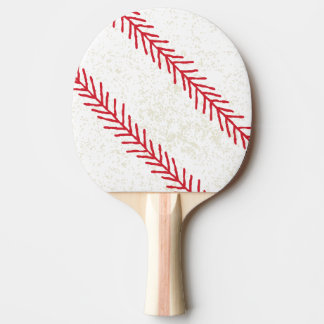 Raquete De Ping-pong Pá de Pong do sibilo do ponto do basebol