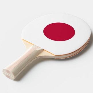 Raquete De Ping-pong Pá do pong do sibilo com a bandeira de Japão