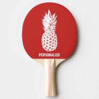 Raquete De Ping Pong Pá do pong do sibilo da fruta do abacaxi para o